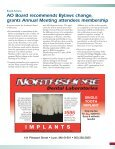 2009 Annual Meeting testing ground for new implant technologies ... - Page 3