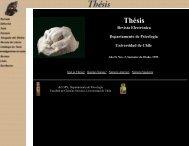 Thésis, Revista Virtual - Facultad de Ciencias Sociales