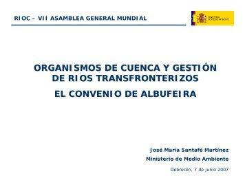 las cuencas hispano - portuguesas - INBO
