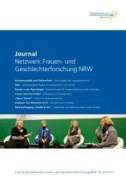 Journal Netzwerk Frauen- und Geschlechterforschung NRW