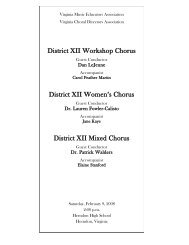 District XII Chorus