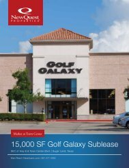 Marketing Brochure - NewQuest Properties
