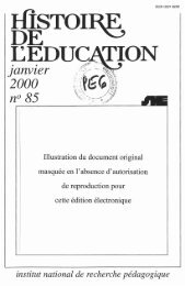 RH085 [Técharger pdf] - Institut français de l'éducation