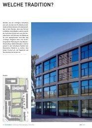 040 axt 06-10 Schule Albisriederp - Architektur & Technik