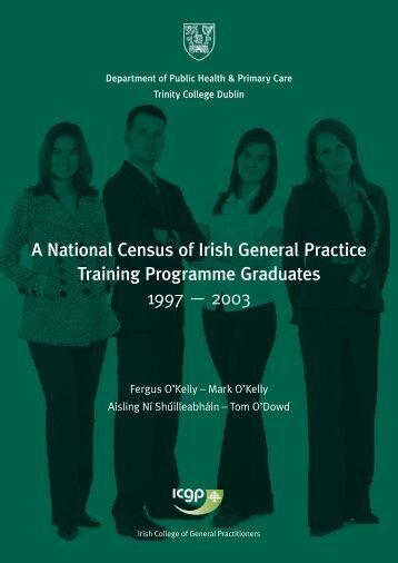 National Census GP Report - School of Medicine - Trinity College ...