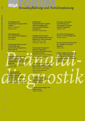 FORUM 1/2007 Pränataldiagnostik