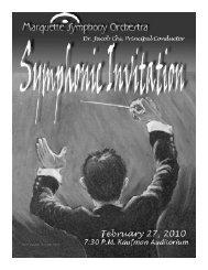42211 sabon mso feb18.qxd - Marquette Symphony Orchestra