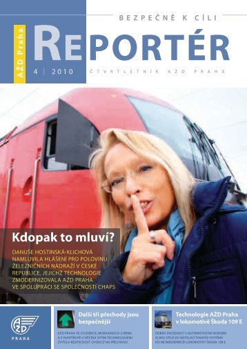 Reportér 2010/4 - AŽD Praha, sro