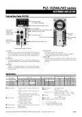 PLZ-W2 series ELECTRONIC LOAD - Kikusui Electronics Corp. - Page 2