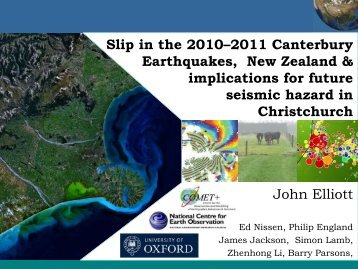 Slip in the 2010-2011 Canterbury Earthquakes, New Zealand and ...