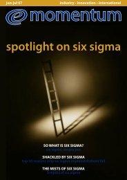 spotlight on six sigma - Rabqsa.com