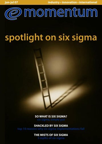 spotlight on six sigma - Rabqsa.com