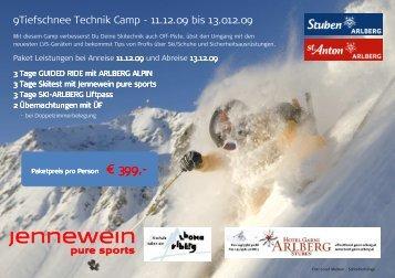 gleich hier - Arlberg Alpin