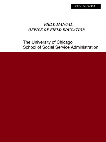 The University of Chicago School of Social Service Administration