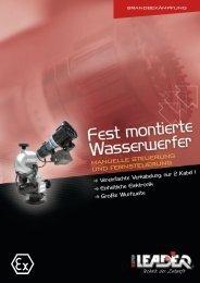 Broschüre festmontierte Wasserwerfer zp02.014.de2 ... - Leader