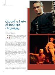 Giocoli e l'arte di fondere i linguaggi