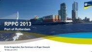 RPPC 2013 - Port of Rotterdam