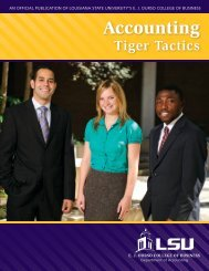 Accounting - EJ Ourso College of Business - Louisiana State ...