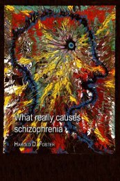 What Really Causes Schizophrenia - Soil and Health Library