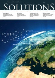 SOLUTIONS Magazin 2/2011 - solutionproviders