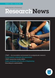 Research News Vol 2 - Dublin Institute of Technology
