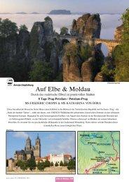 Auf elbe & Moldau - Idealtours
