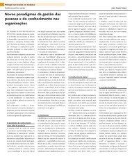 Novos paradigmas da gestão das pessoas e do ... - Janus Online