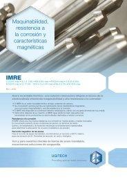 Maquinabilidad, resistencia a la corrosión y características ... - Ugitech
