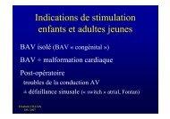 La stimulation et la défibrillation chez l'enfant