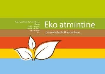 PDF – 2 MB (Lietuvių k., 2010) - Baltijos aplinkos forumas Lietuvoje