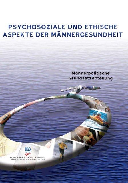 Psychosoziale und Ethische Aspekte der Männergesundheit.qxp