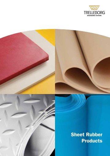 Sheet Rubber Products Brochure - Trelleborg.com.au