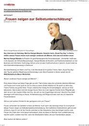 Interview mit Frau. Dr. Stangel-Meseke - Competentia NRW