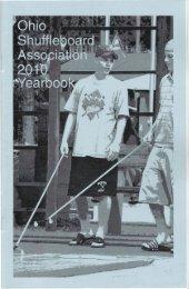 2010 - Ohio Shuffleboard Association