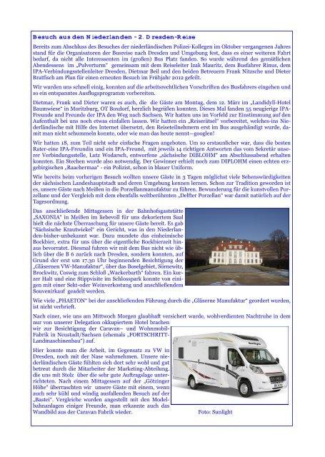 Besuch aus den Niederlanden - 2. Dresden-Reise - Polmarco