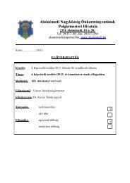 2013.évi munkaterv - Alsónémedi