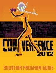 2012 Souvenir Program Book (PDF) - Convergence