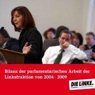 Die Bilanz der Landtagsfraktion - Kornelia Wehlan