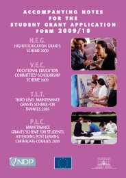 Higher Education Grants Accompanying Notes 2009 - 2010 (PDF ...