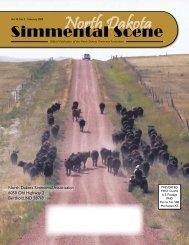 NDSS - February 2009 - North Dakota Simmental Association