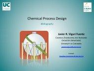 Chemical Process Design - OCW Universidad de Cantabria