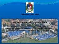 Aree emergenza - Provincia di Forlì-Cesena