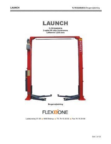 Q-Line TLTE32-40SCA 2-søjlet lift - Flex1one