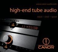 high-end tube audio - MW-AUDIO