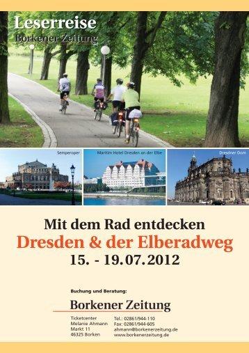 Dresden & der Elberadweg Leserreise