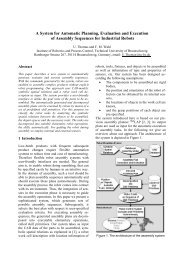 A System for Automatic Planning, Evaluation and Execution of ...
