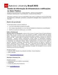 Gestão da Informação de Infraestrutura e edificações no Setor Público