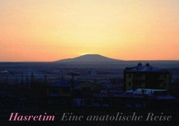 Hasretim Eine anatolische Reise - Marc Sinan