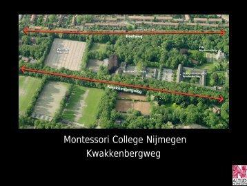 Presentatie met betrekking tot het Montessori College