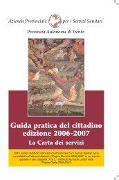 Guida pratica del cittadino edizione 2006-2007 - Azienda ...